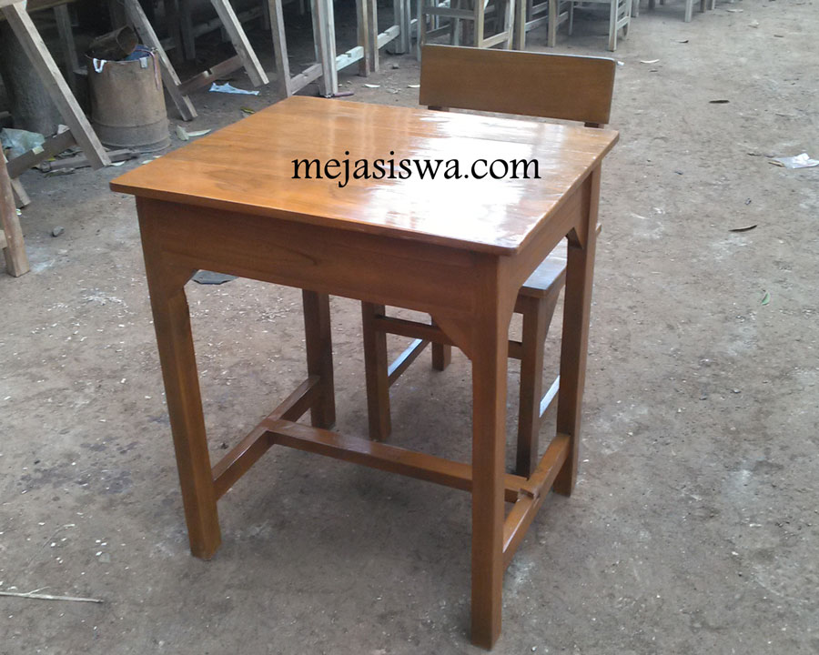 meja kursi sekolah kayu