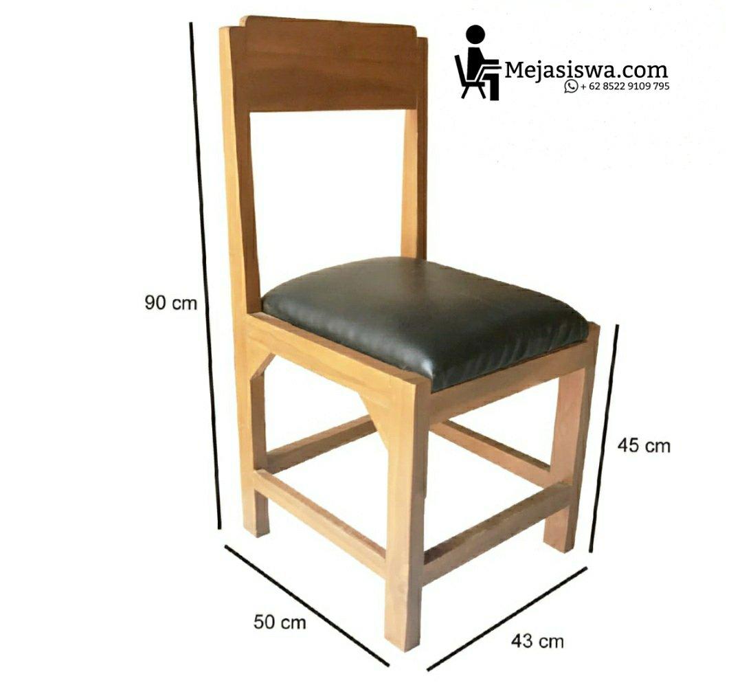 kursi guru kayu