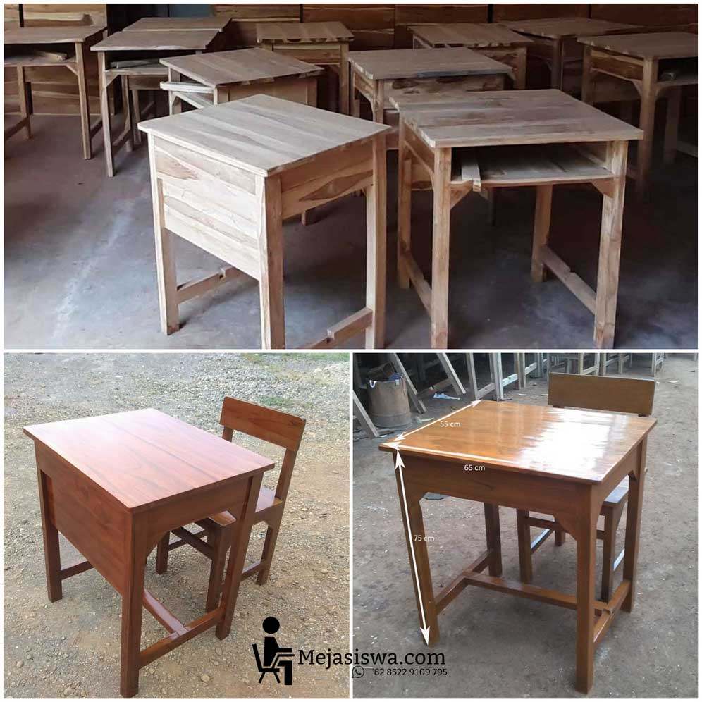 meja sekolahan